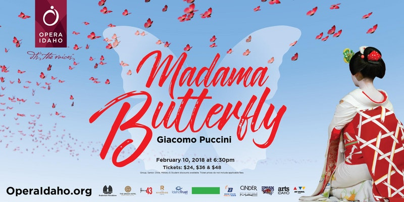 Madama Butterfly - Opera Idaho | Modern Hotel and Bar