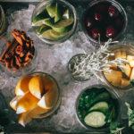 Bar garnish tray at Modern Hotel in Boise, Idaho